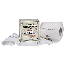 Buy Thomas Crapper Toilet Roll Online at johnlewis.com