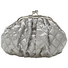 Buy Lisbeth Dahl Silk Makeup Bag, Grey, Medium Online at johnlewis.com