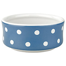Buy Cath Kidston Blue Spot Pet Bowl, Small Online at johnlewis.com