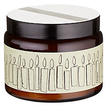Buy Orange Candle Jar, Large Online at johnlewis.com