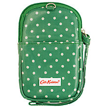 Buy Cath Kidston Emerald Green Spot Gadget Case Online at johnlewis.com