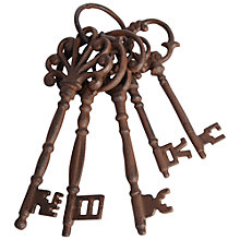 Buy Garden Bunch Of Rusty Keys Online at johnlewis.com