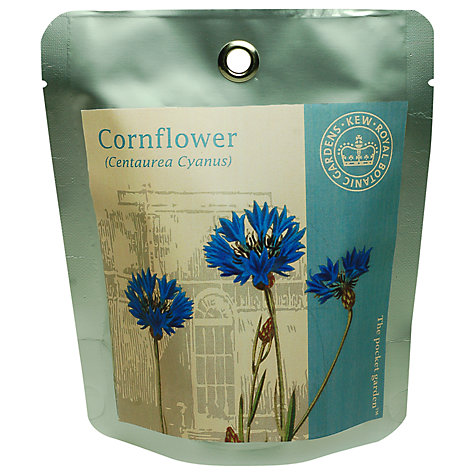 Buy Kew Gardens Pocket Garden Cornflower Online at johnlewis.com