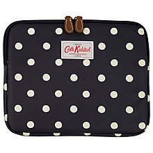 Buy Cath Kidston Navy Spot iPad Case Online at johnlewis.com