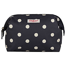 Buy Cath Kidston Navy Spot Travel Pouch Online at johnlewis.com