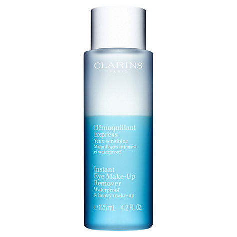 Buy Clarins Instant Eye Make-Up Remover, 125ml Online at johnlewis.com