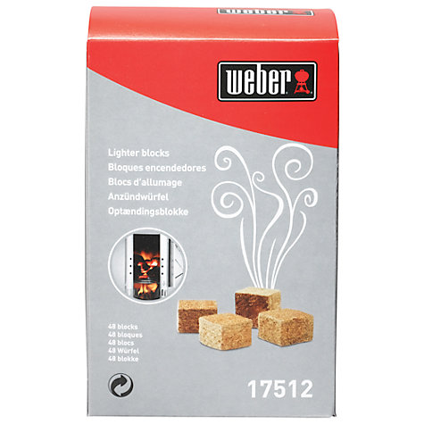Buy Weber Barbecue Lighter Cubes Online at johnlewis.com