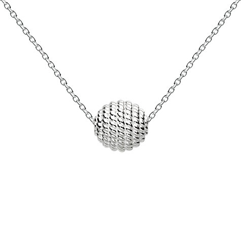 Buy Kit Heath Ravel Ball Sterling Silver Chain Pendant Online at johnlewis.com