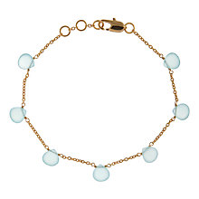 Buy John Lewis Gemstones Chalcendony Teardrop Adjustable Bracelet Online at johnlewis.com