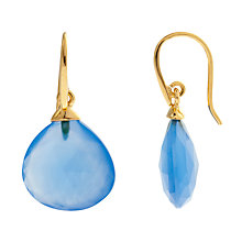 Buy John Lewis Gemstones Tear Drop Hook Earrings Online at johnlewis.com