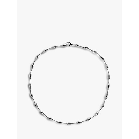 Buy Nina Breddal Sterling Silver Link Necklace Online at johnlewis.com