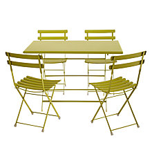 Buy EMU Arc en Ciel 4 Seater Outdoor Furniture Set, Green Online at johnlewis.com