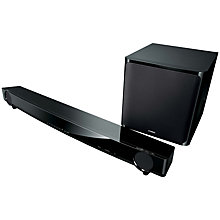 Buy Yamaha YAS-201 7.1 Sound Bar with Wireless Subwoofer, Black Online at johnlewis.com