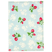Buy Cath Kidston Strawberry Fields Passport Holder Online at johnlewis.com