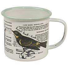 Buy Thoughtful Gardener Enamel Mug Online at johnlewis.com