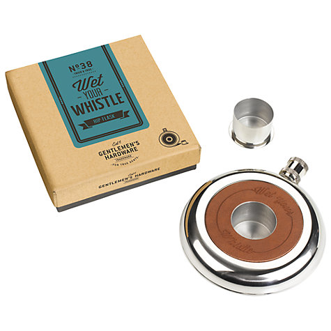 Buy Gentlemen's Hardware Hip Flask Online at johnlewis.com