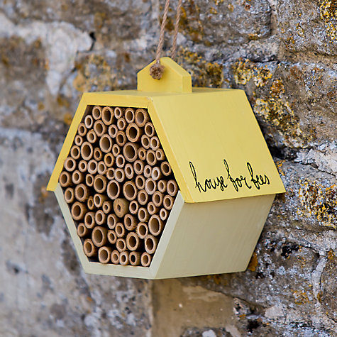 Buy Thoughtful Gardener Bee House Online at johnlewis.com