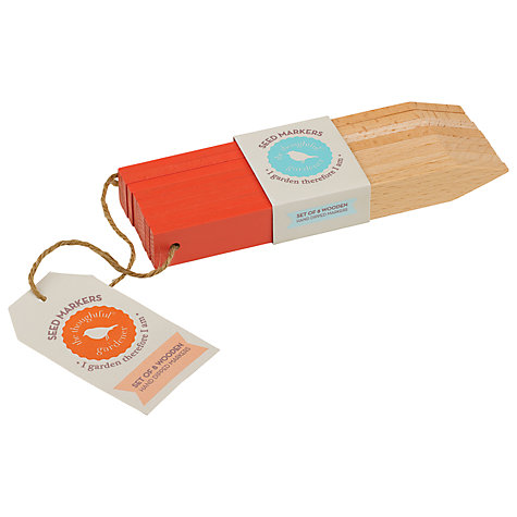 Buy Thoughtful Gardener Seed Markers, Set of 8 Online at johnlewis.com