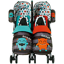 Buy Cosatto Supa Dupa Twin Pushchair, Cuddle Monster Online at johnlewis.com