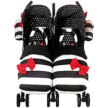 Buy Cosatto Supa Dupa Twin Pushchair, Golightly Online at johnlewis.com