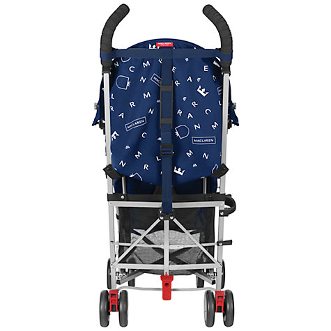 Buy Maclaren Triumph Pushchair, Medieval Blue Online at johnlewis.com