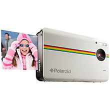 "Buy Polaroid z2300 Instant Digital Camera, HD 720p, 10MP, 3"" LCD Screen Online at johnlewis.com"