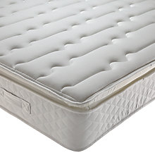 Buy Silentnight Classic Silver Miracoil Mattress, Single Online at johnlewis.com