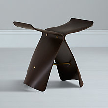 Buy Vitra Yanagi Butterfly Stool, Palisander Online at johnlewis.com