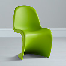 Buy Panton S Junior Chair, Lime Online at johnlewis.com