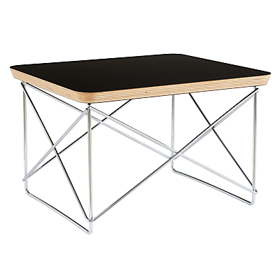 Vitra eames ltr occasional side table black - Eames occasional table ...