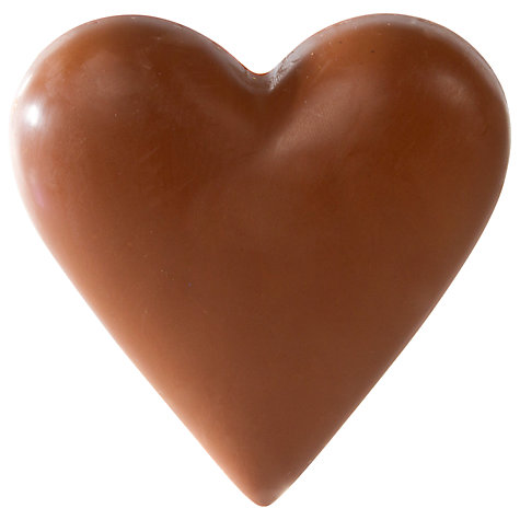 Buy Montezuma Save The Children Solid Milk Chocolate Heart, 100g Online at johnlewis.com