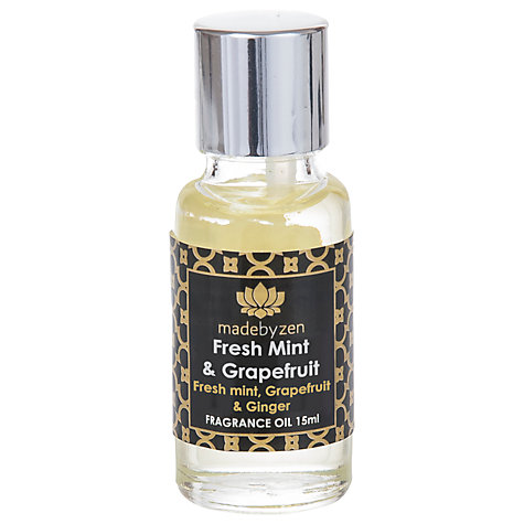Buy madebyzen Signature Scent Fresh Mint and Grapefruit, 15ml Online at johnlewis.com