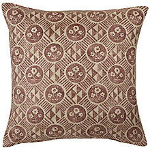 Buy Zoffany Diamonds and Flowers Cushion Online at johnlewis.com