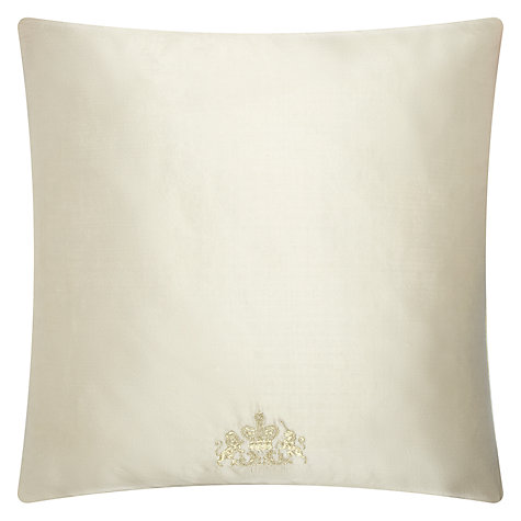 Buy Designers Guild Moser Wedgewood Cushion, Wedgewood/Champagne Online at johnlewis.com