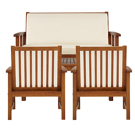 Buy John Lewis Naples Outdoor Lounging Set Online at johnlewis.com