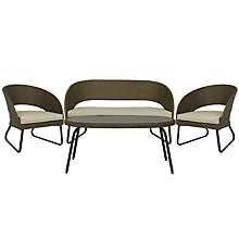 Buy John Lewis Corsica Outdoor Lounging Set Online at johnlewis.com