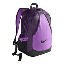 Buy Nike Varsity Backpack, Purple Online at johnlewis.com