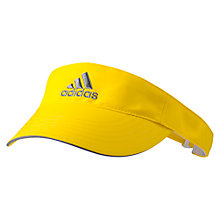 Buy Adidas Tennis Visor, Yellow/Grey Online at johnlewis.com