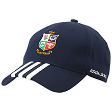 Buy Adidas British & Irish Lions 3 Stripe Cap Online at johnlewis.com