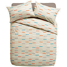Buy John Lewis Beads Standard Pillowcases, Natural Online at johnlewis.com