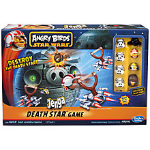 Buy Angry Birds Star Wars Jenga Death Star Online at johnlewis.com