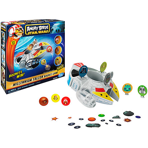 Buy Angry Birds Star Wars Millennium Falcon Bounce Game Online at johnlewis.com