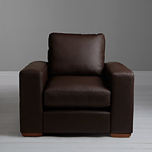 Buy John Lewis Options Armchair, Madras Leather Online at johnlewis.com