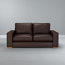 Buy John Lewis Options Medium Sofa, Madras Leather Online at johnlewis.com