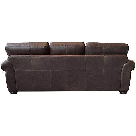 Buy John Lewis Madison Grand Leather Sofa, Colorado Online at johnlewis.com