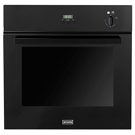 Buy Stoves SGB600PS Single Gas Oven, Black Online at johnlewis.com