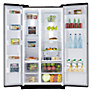Buy Samsung RS7527BHCBC American Style Fridge Freezer, Gloss Black Online at johnlewis.com