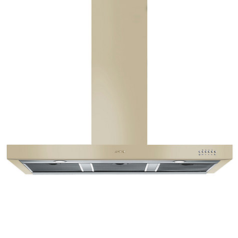 Buy Smeg KSE110P-9 Chimney Cooker Hood, Cream Online at johnlewis.com
