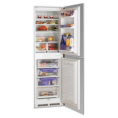 Buy Hotpoint HM325NI Integrated Fridge Freezer, White Online at johnlewis.com