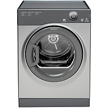 Buy Hotpoint TVFM60C6G Vented Tumble Dryer, 6kg Load, C Energy Rating, Graphite Online at johnlewis.com